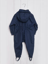 Load image into Gallery viewer, Grass & Air Navy Lined Stomper Suit - Mumma and Mia