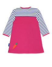 Load image into Gallery viewer, Toby Tiger Breton Rabbit Dress - Mumma and Mia