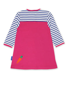 Toby Tiger Breton Rabbit Dress - Mumma and Mia
