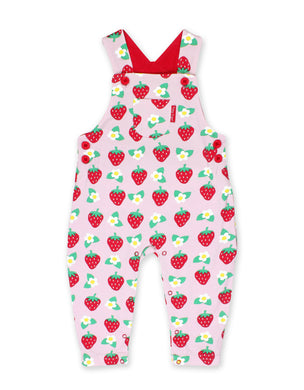 Toby Tiger Strawberry Flower Dungarees - Mumma and Mia