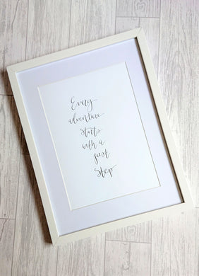 Lexi Loodle Every First Step Handwritten Print - Mumma and Mia