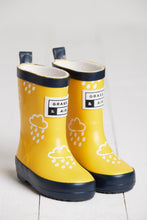 Load image into Gallery viewer, Grass & Air Yellow Infant Cloud Wellies - Mumma and Mia