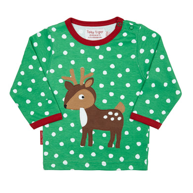 Toby Tiger Reindeer T-Shirt - Mumma and Mia