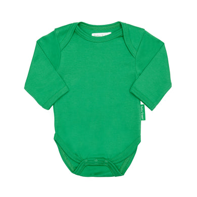 Toby Tiger Plain Green Bodysuit - Mumma and Mia