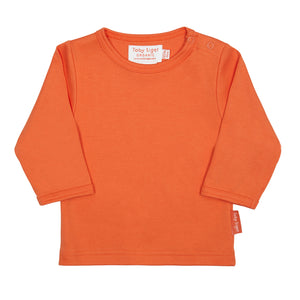 Toby Tiger Plain Orange T-Shirt - Mumma and Mia