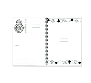 Blueberry Co The Monochrome Baby Book Rainbow Edition - Mumma and Mia