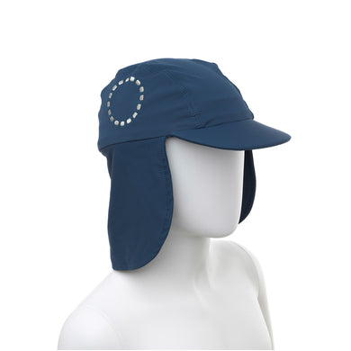 Noma Swimwear Blue & White Legionnaire's Sun Hat - Mumma and Mia