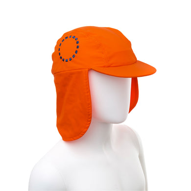 Noma Swimwear Orange & Blue Legionnaire's Sun Hat - Mumma and Mia