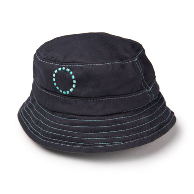 Noma Swimwear Blue & Turquoise Bucket Sun Hat - Mumma and Mia