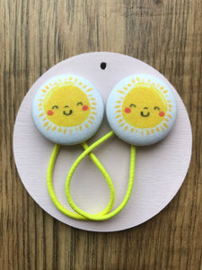 Rockahoot Sunshine Hair Bobbles - Mumma and Mia