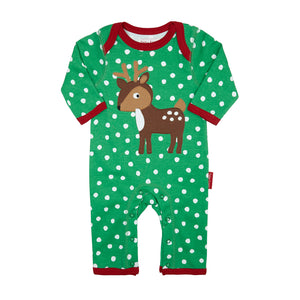 Toby Tiger Reindeer Sleepsuit - Mumma and Mia