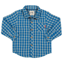Load image into Gallery viewer, Kite Mini check shirt - Mumma and Mia