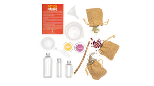 The Den Kit Company Portable Potion Kit to gets outdoors and exploring nature and using thier imagination