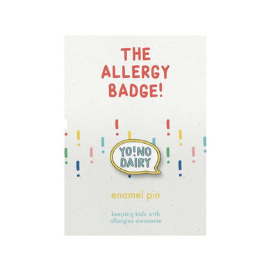 The Allergy Badge Dairy Allergy Badge - Mumma and Mia