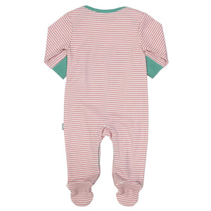 Kite Stripy Owl Sleepsuit - Mumma and Mia