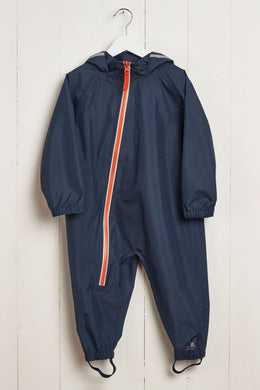 Grass & Air Navy and Coral Stomper Suit - Mumma and Mia