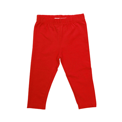 Toby Tiger Plain Red Leggings - Mumma and Mia