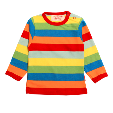 Toby Tiger Multi Stripe T-Shirt - Mumma and Mia