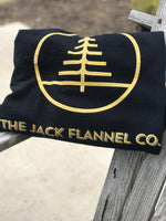 Jack Flannel Crew Neck Sweatshirt