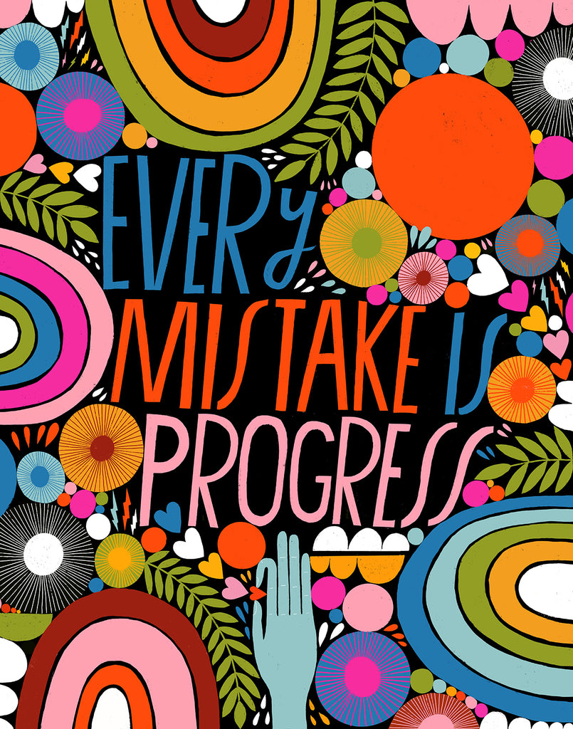 Every Mistake is Progress