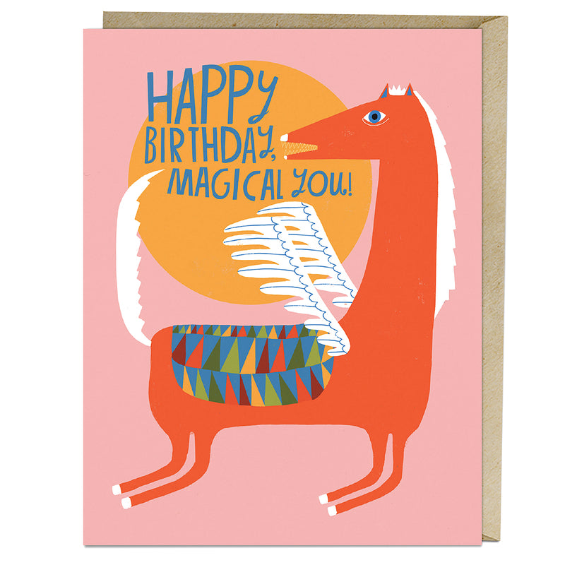 Magical You Birthday Greeting Card