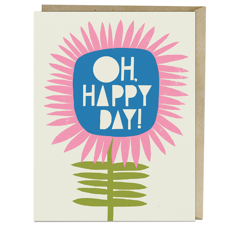 Oh, Happy Day Greeting Card