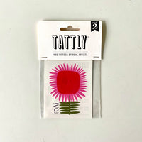 Love Flower Tattly Temporary Tattoo