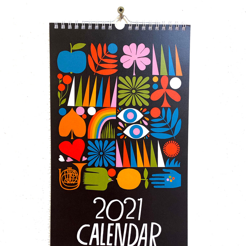 2021 Wall Calendar by Lisa Congdon