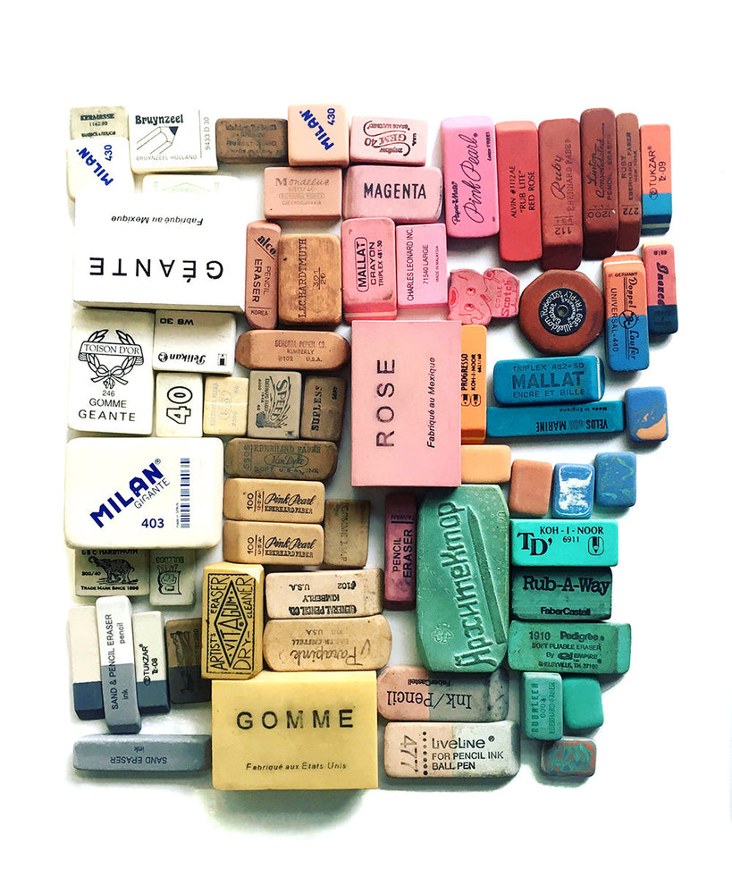 Eraser Collection No. 1 - Photograph