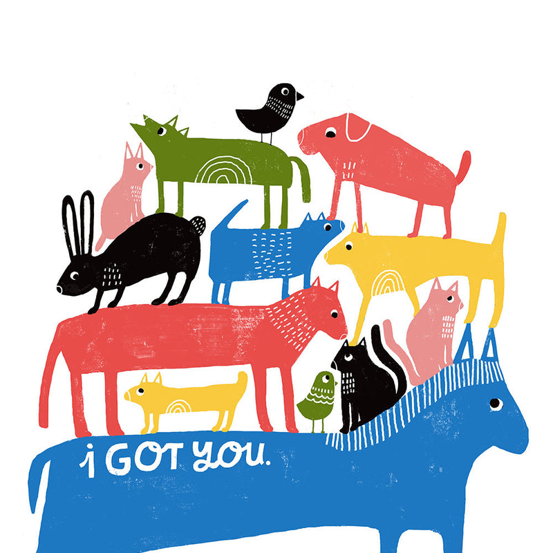 I Got You - Art Print