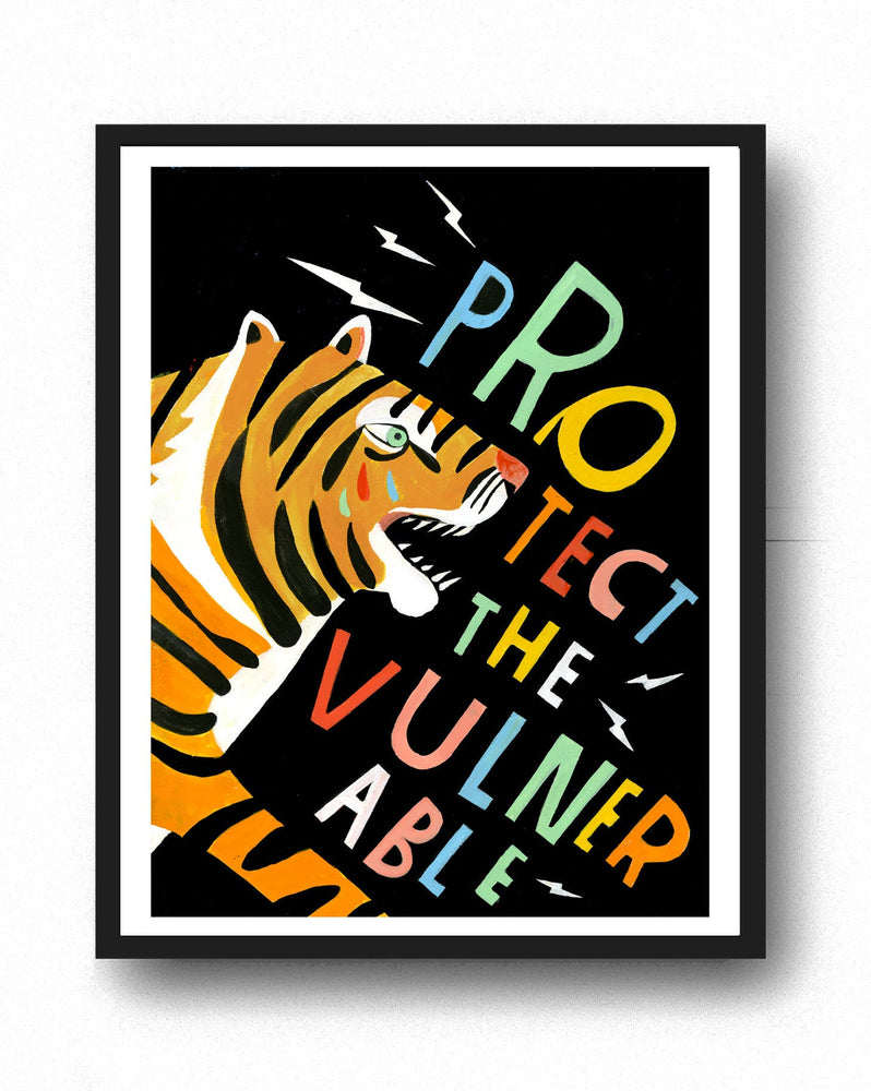 Protect the Vulnerable - Art Print