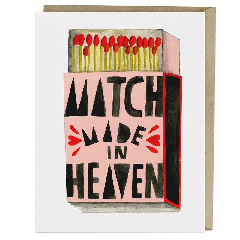 Match Made in Heaven Greeting Card