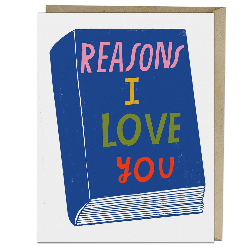 Reasons I Love You Greeting Card
