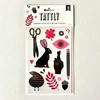 Miscelleany Sheet Tattly Temporary Tattoo