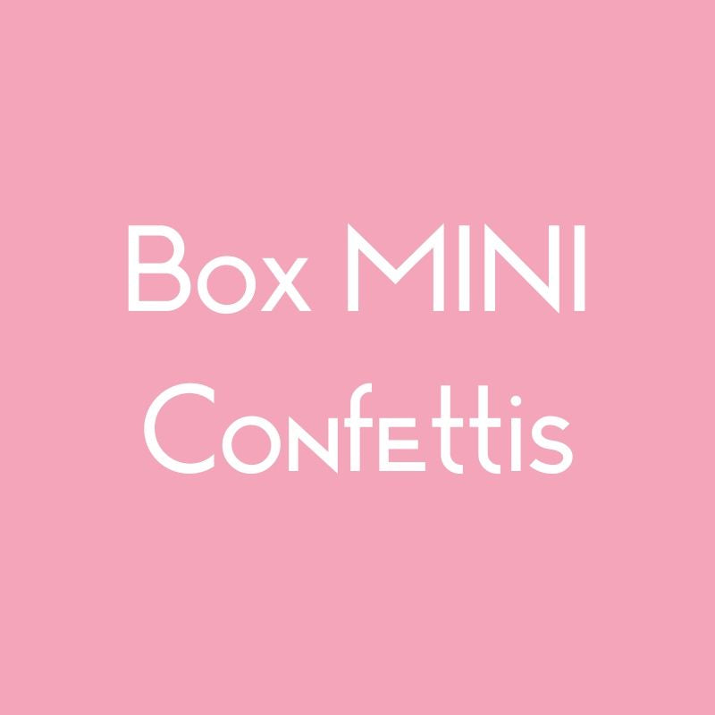 Box MINI Confettis
