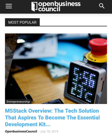 M5Stack Overview: The Tech Solution That Aspires To Become The Essential Development Kit For Entrepreneurs
