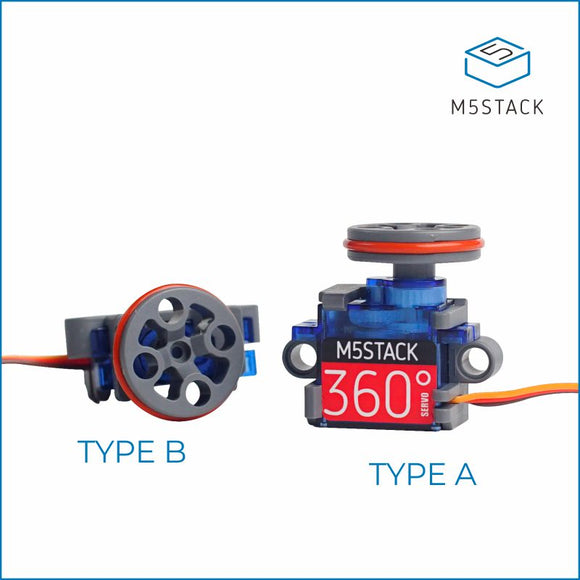 Servo Kit 360° LEGO-compatible - m5stack-store
