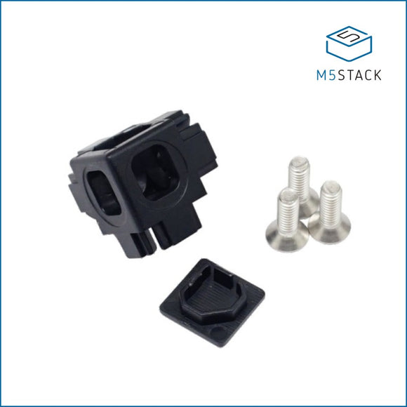 Plastic Corner Connector for 1515 Aluminum Profile (10pcs) - m5stack-store
