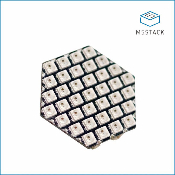 HEX RGB LED Board (SK6812) - m5stack-store