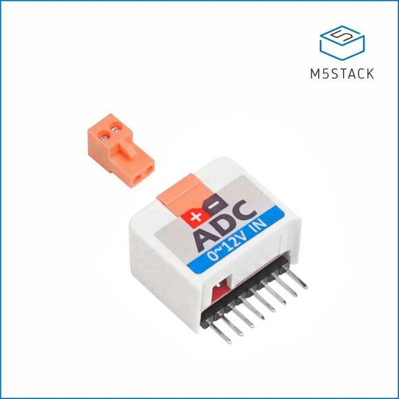 M5StickC ADC HAT ADS1100 - m5stack-store
