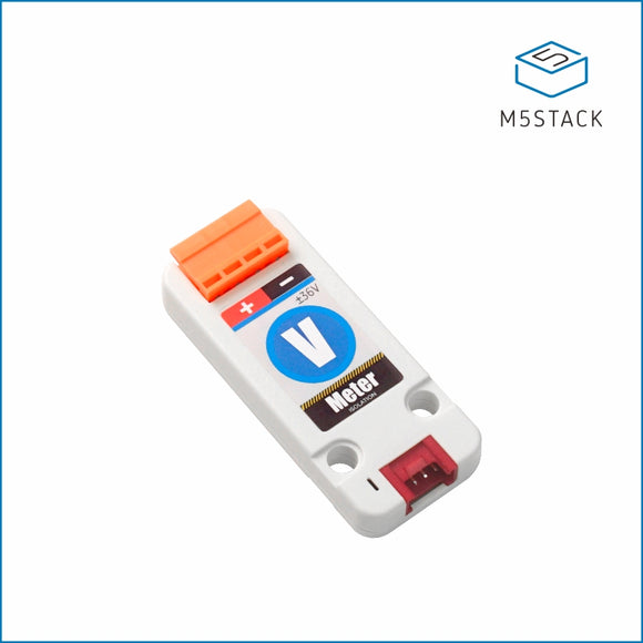 Voltmeter Unit (ADS1115) - m5stack-store