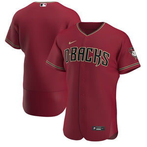 Arizona Diamondbacks Crimson Alternate 2020 Team Jersey