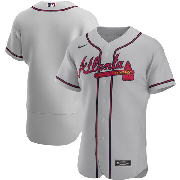 Atlanta Braves Gray Road 2020 Team Jersey