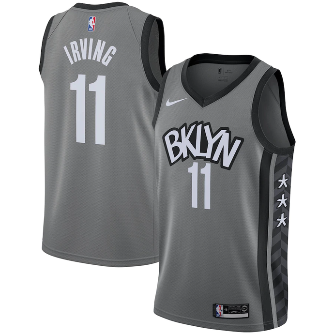 Brooklyn Nets Gray 2019/2020 Team Jersey - Statement Edition