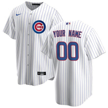 Load image into Gallery viewer, Chicago Cubs White/Royal Home 2020 Jersey