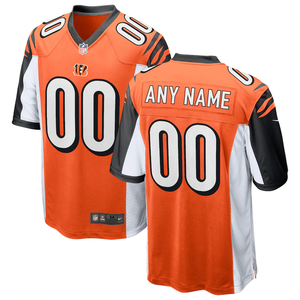 Cincinnati Bengals Orange Alternate Team Jersey