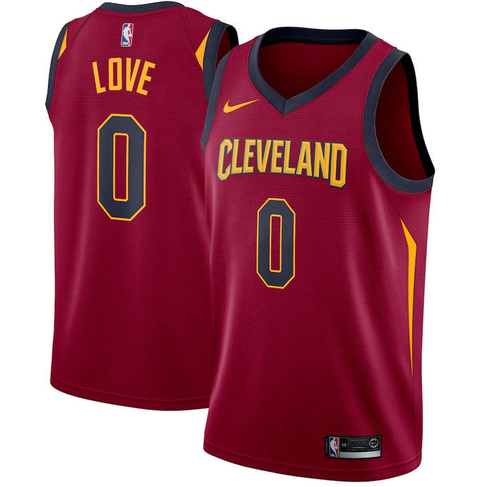 Cleveland Cavaliers Maroon Team Jersey - Icon Edition