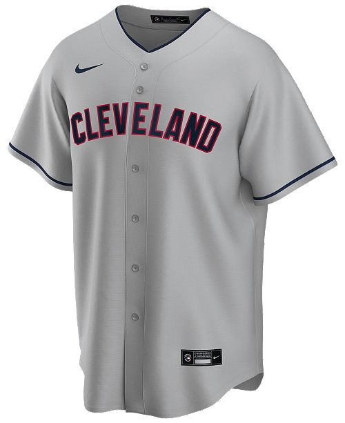 Cleveland Indians Gray Road 2020 Team Jersey