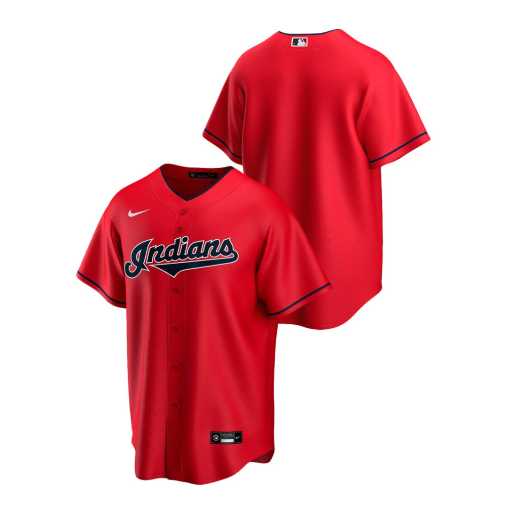 Cleveland Indians Red Alternate 2020 Team Jersey