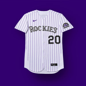 Colorado Rockies White Jersey